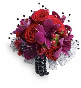 Celebrity Style Prom Corsage