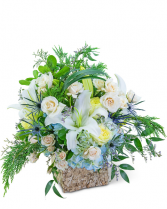 Celestial Winter Flower Arrangement