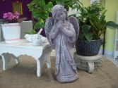 cement garden angel outdoor garden statuary