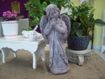 cement garden angel outdoor garden statuary