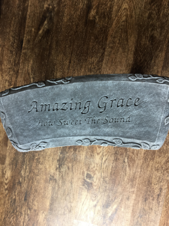 CEMENT GARDEN BENCH-AMAZING GRACE HOME DECOR