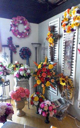 Cemetery Arrangements Silk In Brandon Fl Whidden Florist