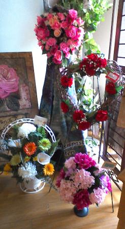 Cemetery Arrangements Silk