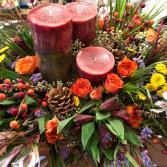 Center Of Love  Anniversary Flowers