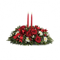 CENTERPIECE 02 TRAY DOUBLE CANDLE