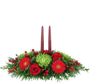 CENTERPIECE 01 TRAY DOUBLE CANDLE