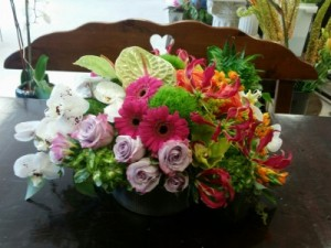 Centerpiece of attention EN-56 in Teaneck, NJ | ENCKE FLOWERS