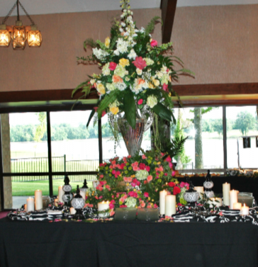 Centerpiece on plate/flatware table Wedding / Event