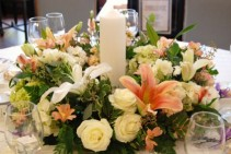 centerpiece reception flowers