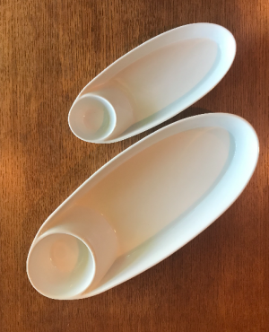 Ceramic Chip and Dip Trays  in Yankton, SD | Pied Piper Flowers & Gifts