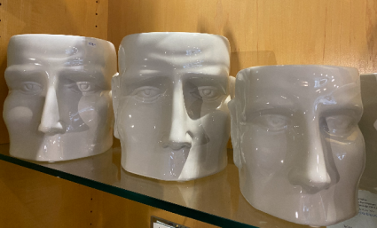 Ceramic Heads planters
