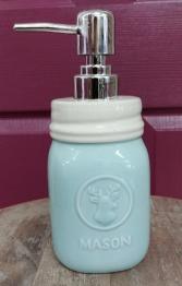Ceramic mason jar dispenser Soap/lotion dispenser