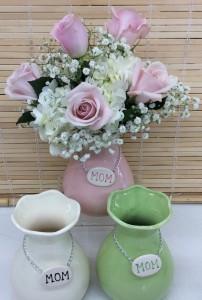 Ceramic Mom Vase