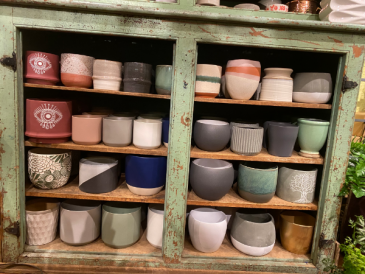 Ceramic Pots that fit 5 inch and 6 inch plants