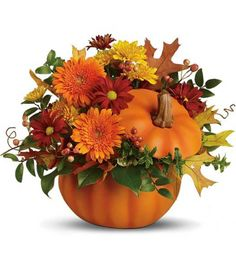 CERAMIC PUMPKIN  in Longview, TX | ANN'S PETALS