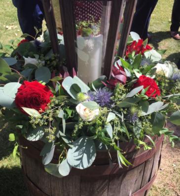 Rotary House Ceremony  Flowers  Ceremony