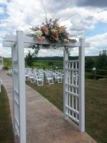 CeremonyTrellis F Floral Indoor / Outdoor