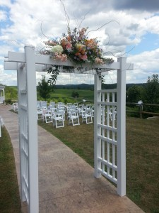 CeremonyTrellis F Floral Indoor / Outdoor