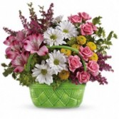 Basket of Beauty Floral Bouquet