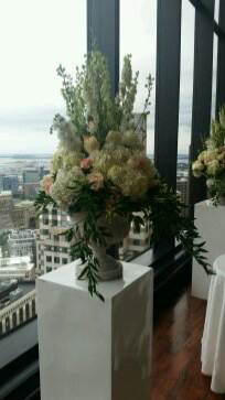 Cermony arrangements State Room Boston