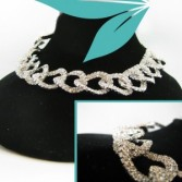 Chain Link Choker Jewellery