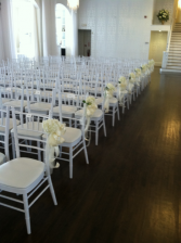 Chair bows / Pew bows 2 Wedding