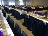 Chair cover rental Black or white