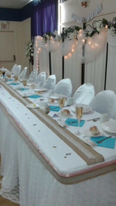 Chair covers Wedding Rentals
