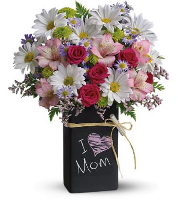 Chalk It Up All-Around Floral Arrangement