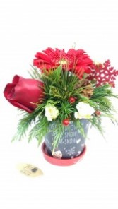 chalkboard pot christmas entertaining