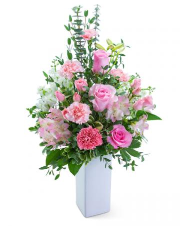 Champagne Blush Flower Arrangement