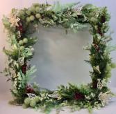 Modern Christmas Permanent Botanical Wreath