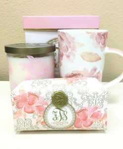 Champagne Rose Gift Set