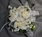 CHAMPAGNE SPARKLE  CORSAGE IN STORE PICK UP ONLY WRIST CORSAGE