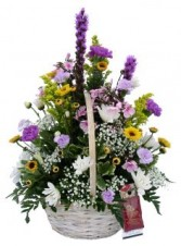 Champion Garden Basket Arrangement