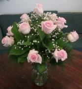 Chantilly Pink Rose Arrangement