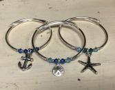 Charm and Swarovski Crysta Braceletl