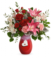 Charmed in Love Bouquet All-Around Floral Arrangement