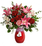 Charmed in Love Bouquet Fresh Arrangement