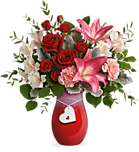 Charmed In Love Bouquet Teleflora