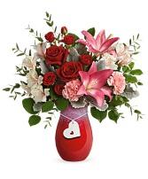 Charmed in Love Bouquet  Arrangement