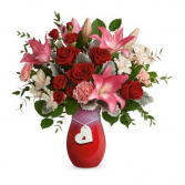 Charmed In Love Vase