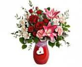 Charmed in Love Vase Arrangement