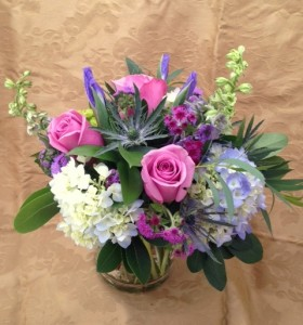 Charmed Vased Arrangement Semi-Compact