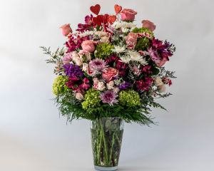 Charming Elegance Vased Arrangement in Kettering, OH | FLOWERAMA