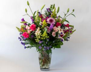Charming Elegance Vased Arrangement in Dayton, OH | FLOWERAMA