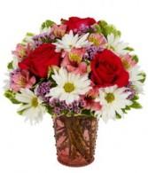 Charming & Sweet Bouquet  Vased Arrangement
