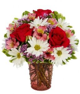 Charming & Sweet Bouquet  Vased Arrangement  in Phoenix, NY | BLUSHING ROSE BOUTIQUE