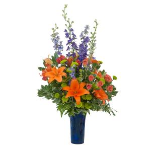 Chase away the Blues Arrangement in Fort Smith, AR | EXPRESSIONS FLOWERS, LLC
