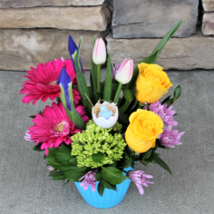 Cheeky Chick Easter Flowers